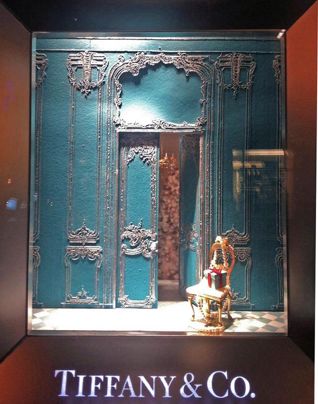 Tiffany's Xmas Window
