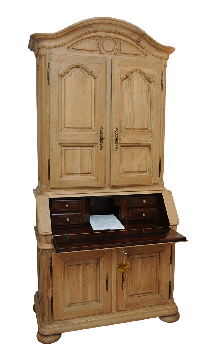 Secretary Desk - Alcedines Antique  Art Restoration Studio
